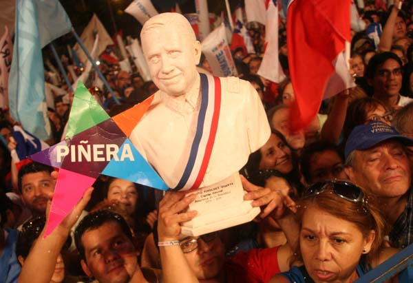 Desde este momento supimos que nada con Piñera saldría bien...