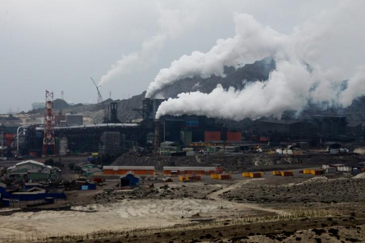 huasco contaminacion