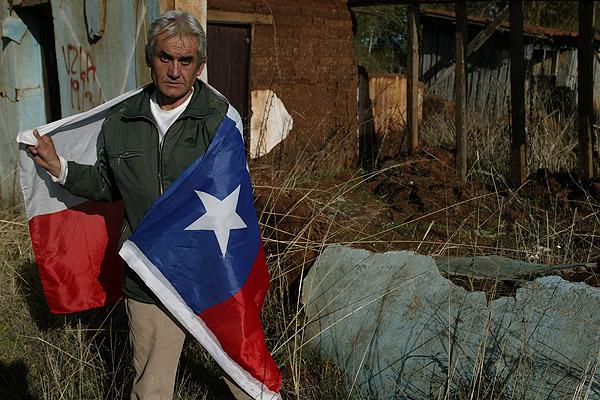 bandera chilena pobre