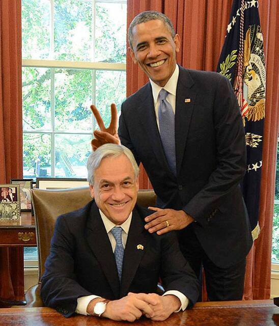 piñera obama
