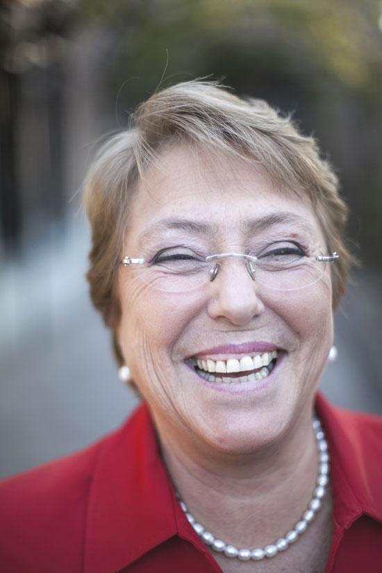 Bachelet risa
