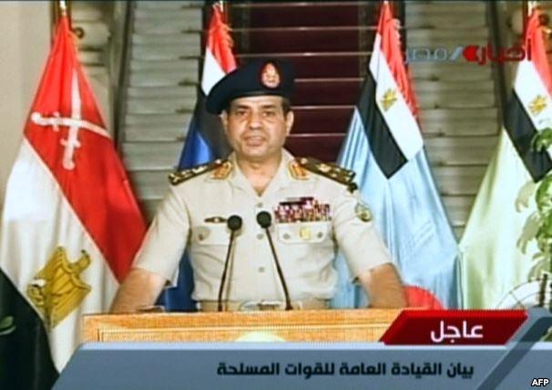 golpe de estado egipto