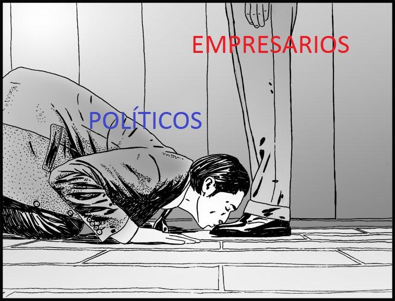 POLITICOS EMPRESARIOS