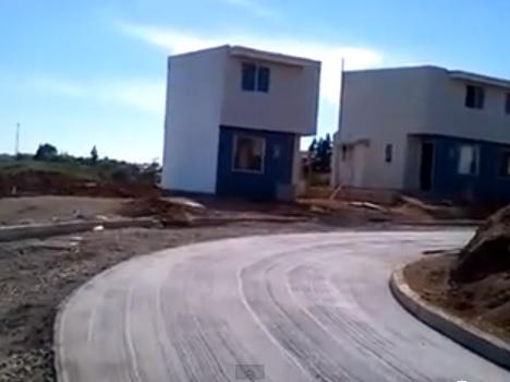 casas cajas de fosforo de Piñera