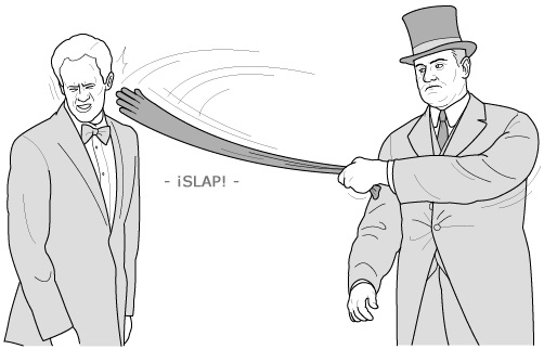 pelea de cuicos burgueses duelo