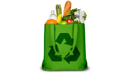 bolsa reciclable