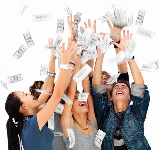 jovenes millonarios dinero