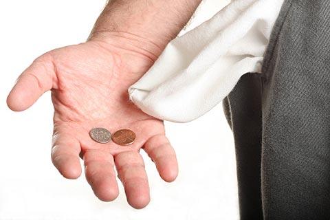 dinero bolsillo deuda