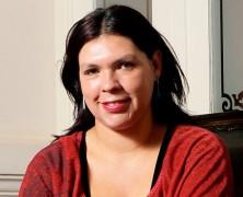 """Bárbara Figueroa barrió el piso con los profesores en paro: """"Sólo buscan debilitar a la organización"""""""