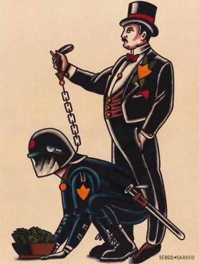 burguesía policia capitalismo