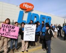 """Las sucias maniobras de Lider/Walmart para ejercer prácticas antisindicales """"legales"""""""
