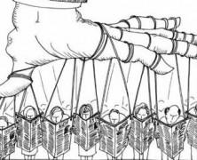 El propósito de los medios masivos no es informar, es dar forma a la opinión pública según los intereses del poder