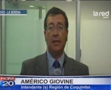 VIDEO: La vergonzosa defensa del intendente de Coquimbo a Luksic por crisis en Caimanes
