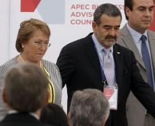 """Vocero de Caimanes: """"Hay una colusión tremenda entre el gobierno de Bachelet y el señor Luksic"""""""