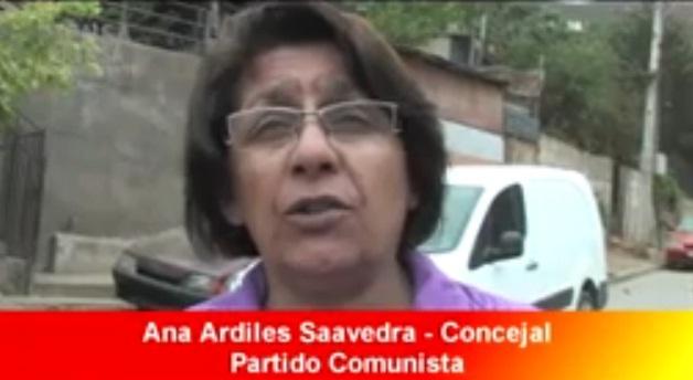 ANA ARDILES COMUNISTA VENDIDA