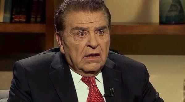 Don Francisco sufre derrame cerebral
