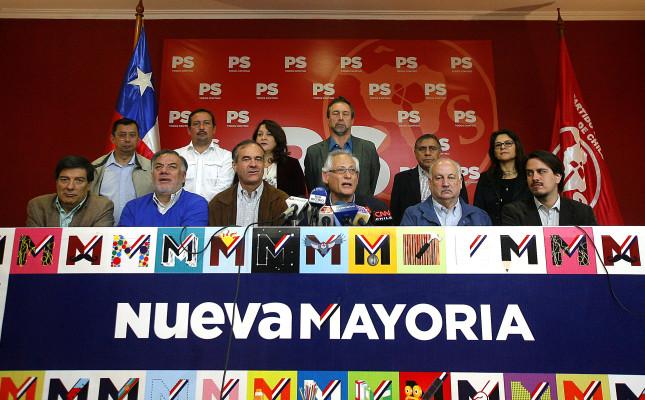 Los Presidentes y Secretarios Generales de los partidos de la Nueva Mayoría se reúnen para conmemorar un nuevo aniversario del triunfo del No