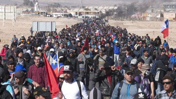 codelco huelga 14