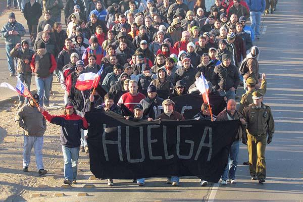 codelco huelga 3