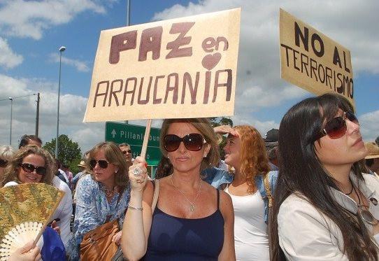 latifunistas terrorismo mapuche