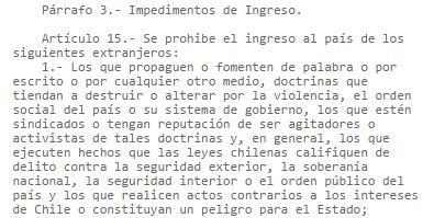 Siempre es bueno recordar lo que pasa en Chile si un extranjero hace lo que hizo Kast en Cuba