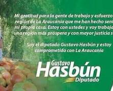Abandono de deberes: Hasbún dejó botada La Florida y empezó a hacer campaña por La Araucanía