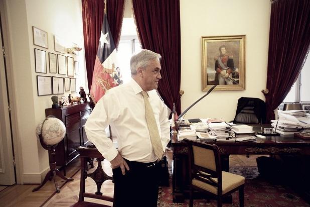 piñera pose