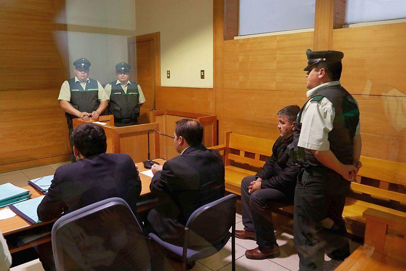 Formalización caso autoatentado en Vilcún de julio de 2014
