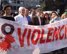 Delincuente Daniel Farcas encabezó la marcha burguesa a favor de la Detención sin Sospecha