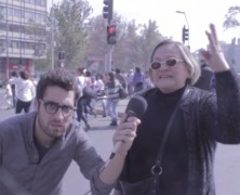 VIDEO: Viejas Pinochetistas hacen el ridículo en marcha a favor de la Detención sin Sospecha
