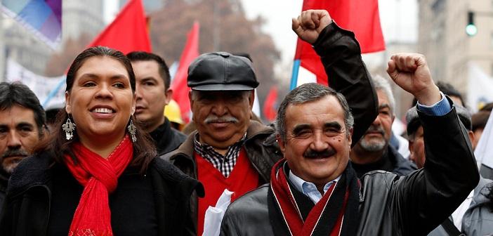 Denuncian flor de tongo del Partido Comunista para seguir en la presidencia de la CUT