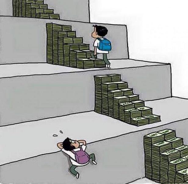 educacion-dinero-desigualdad-social