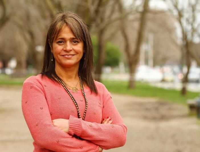 JACQUELINE VAN RYSSELBERGHE, CANDIDATA A SENADORA POR OCTAVA COSTA. EL SUR DOMINGO 1 DE SEPTIEMBRE DE 2013