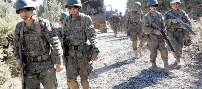 militarización mapuche