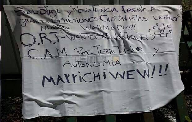 mapuche mensaje