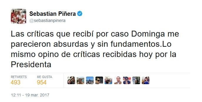 piñera dominga