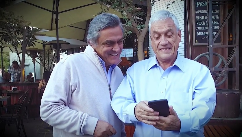 piñera video 1