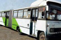 transantiago bus viejo