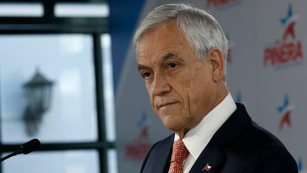 Piñera cagon cobarde
