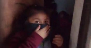 pacos de mierda niños mapuche