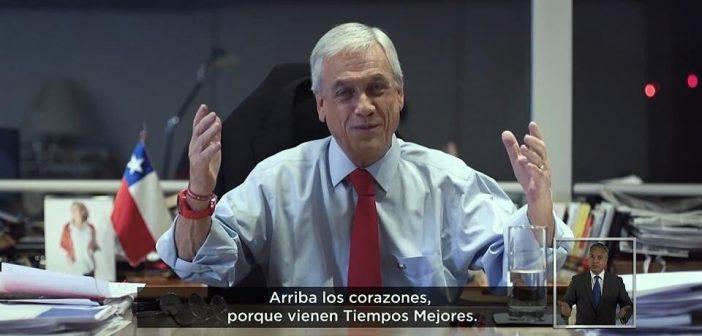 """La Democracia según Piñera: """"Las mayorías no pueden hacer cualquier cosa"""""""