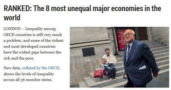 desigualdad social chile ocdeq