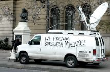 prensa burguesa miente