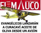 Canutos contratan una avioneta para lanzarle aceite de oliva a la gente