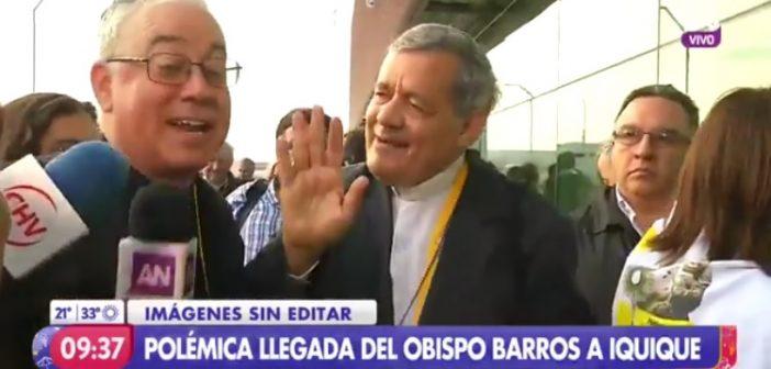 VIDEO: Obispo de San Bernardo empujó a periodistas para defender al sacerdote pedófilo Juan Barros