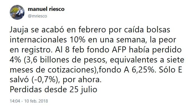 MANUEL RIESCO AFP