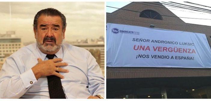 Luksic realizará una nueva ronda de despidos masivos en Canal 13 tras contratar a una productora española