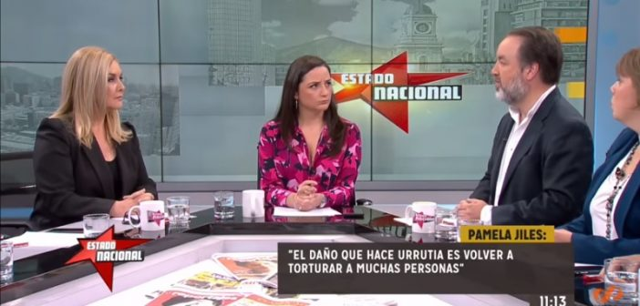 """VIDEO: Pamela Jiles mandó a la chucha a Gonzalo Müller tras calificar de """"violenta"""" su reacción contra Ignacio Urrutia"""