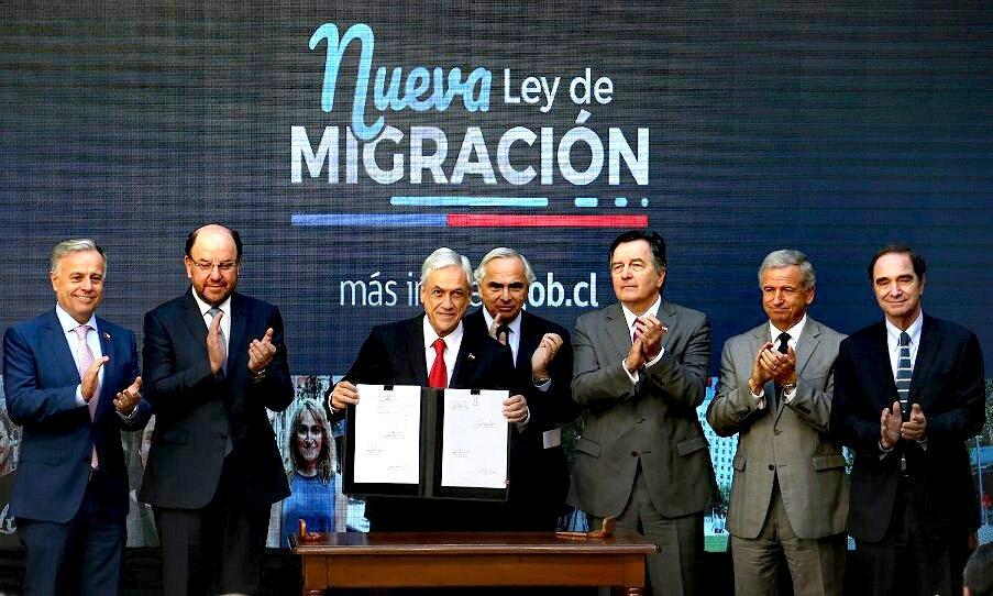 piñera ley de migraciones 2