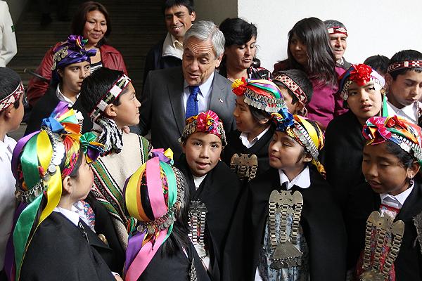 piñera mapuches 1
